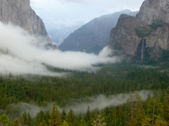 Yosemite on a rainy day