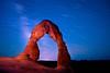 Delicate Sky (Dan Ballard Photography) Tags: sky rock night star utah gallery arch best archesnationalpark startrails delicatearch photograpy danballardphotogarphy