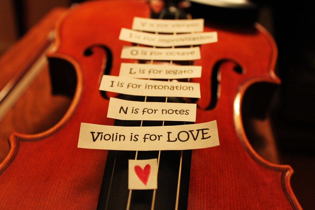 V Is For Violin NOTES OF A VIOL...