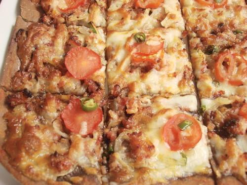 Brotzeit Mid valley - german pizza fladen