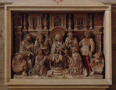 Mnster, Dom, epitaph altar for Melchior von Bren 8 August 1546 (groenling) Tags: saint stone germany de joseph deutschland king cathedral maria dom mary jesus birth stonecarving carving altar gift nrw stein geschenk johann nativity mnster epitaph magi geburt knig westfalen bartholomew heilige bartholomus nordrhein paulusdom nativitas brabender brenscheepitaphaltar epitaphaltar