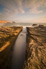 Davenport (Bill Ratcliffe) Tags: ocean california longexposure santacruz rock rocks waves pacific davenport centralcalifornia seastack ndfilter d90 davenportcalifornia 10stopndfilter