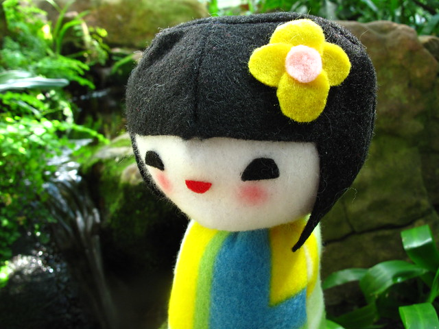 Kokeshi doll plush 25