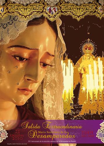 cartel Salida Extraordinaria María Santísima de los Desamparados