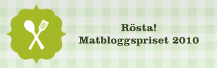 matbloggspriset 2010