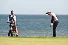 Edoardo Molinari (leonharris) Tags: golf standrews 2010 kingsbarns dunhilllinkschampionships