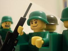 PFC Will Chapman (CrazyBrck) Tags: men green army lego minifigure brickarms