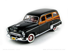 Oldsmobile 1949 88 Station Wagon (Motorcar Miniatures) Tags: 88 1949 oldsmobile stationwagon danburymint
