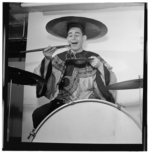 Portrait of Shelly Manne, New York, N.Y.(?), ca. June 1947