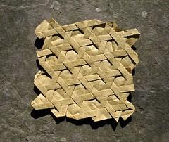 Basket Weave (rebecccaravelry) Tags: origami cooper gjerde tessellation joelcooper ericgjerde