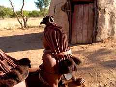 Himba Namibia (oder345nn) Tags: africa red people black kids hair children kid african wildlife culture tribal kinder menschen kind safari afrika colored tribe ethnic namibia farbig schwarz tribo himba afrique ethnology tribu namibie tribus völker ethnie himbas