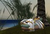 Meritaten rests on the bank of the Nile in virtual Amarna (Akhetaten) (mharrsch) Tags: ancient egypt nile 18thdynasty nefertiti akhenaten virtualworld meritaten amarna virtualenvironment mharrsch akhetaten heritagekey
