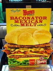 Wendy's Baconator Mexican Melt
