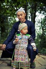 _DSC1510 (Cenwei.L) Tags: china trip travel last kid clothing gun village child traditional  southeast tribe guizhou miao   hmong  gunmen southeastern gunman basha        qiandongnan  miaonationality  biasha  congjiang  stockadedvillage