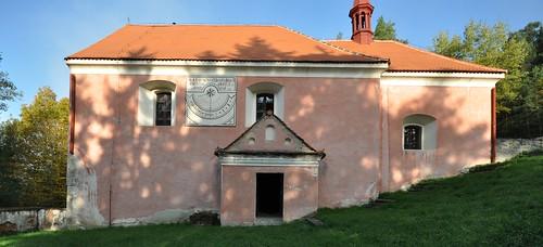 Červená nad Vltavou (okres Písek, obec Květov, k. ú. Vůsí), kostel sv. Bartoloměje