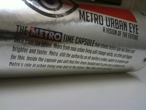 The Metro sent me a blog post