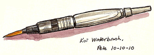 koi waterbrush