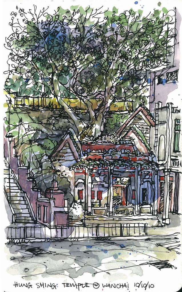 Hung Shing Temple @ Wanchai, HK