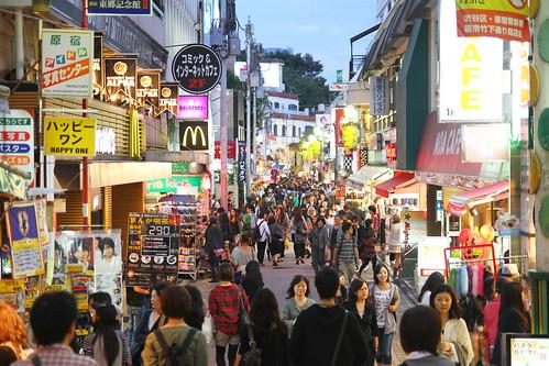 Takeshita Street and i...