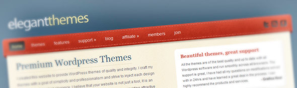 Premium WordPress Themes | Elegant Themes