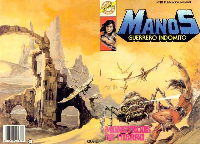 Manos Guerrero Indomito, Cover #10