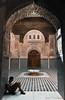 Reading in the Madrasa Attarine (Beum Gallery) Tags: reading muslim islam morocco fez maroc lecture fès madrasa medersa attarine écolecoranique coranicschool