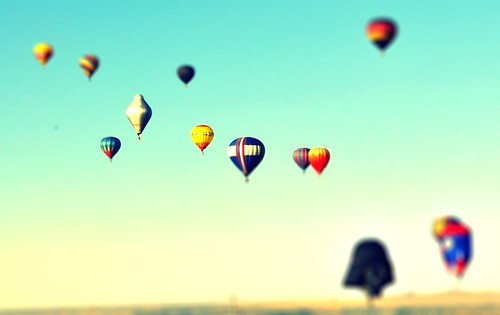 Balloon Fiesta - now with tiltshift!