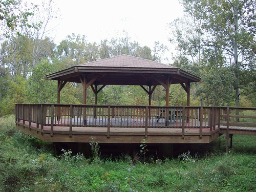 Burchfield Art and Nature Center VII: The gazebo