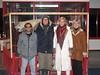 Satish, Rishi, Parvati and Sunanda at Resolute Bay Airport (parvatimusic) Tags: musician canadian planetary rishi nunavut humanitarian satish parvati revival northpole resolute ignites wardhuntisland natamba parvatinorthpole ourearthwewill parvatimusic positivepossibilities