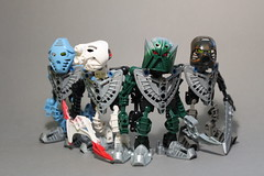 Matorans of Mahri Nui (Exxtrooper) Tags: 2001 money green water norway dark photography is lego mask fuck who under thinks 2006 company only about them bionicle built barnacle 2010 zomg nui liek mahri kopaka exx exxtrooper bionicul