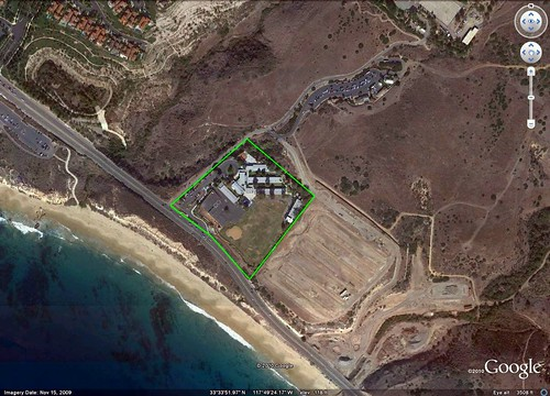 El Morro ES (image by Google Earth, marking by me)