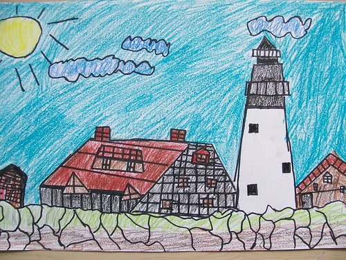 lighhouse illustrations 021