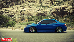 Lance's STI (Rockets.) Tags: las vegas light red beautiful rock canon jon sylvester natural low subaru 35 wrx sti stance 14l 5dmk2 canibeat
