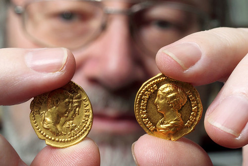 Roman Gold Coins Found in Germany