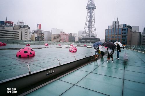 雨の名古屋