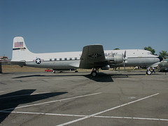 640 Travis 27 04 04 C-118 (Proplinerman) Tags: aircraft travis douglas usaf airliner dc6 propliner dc6b c118 517651