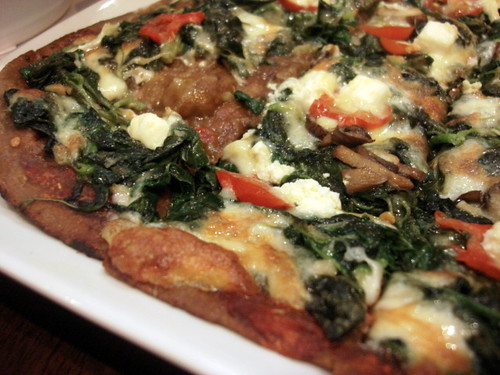 Brotzeit Mid valley - spinach pizza
