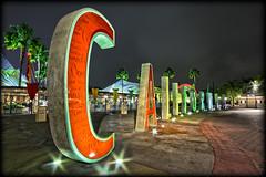 Goodbye C-A-L-I-F-O-R-N-I-A! [Explore] (Silver1SWA (Ryan Pastorino)) Tags: california night canon disneyland letters sigma disney walt hdr californiaadventure sigma1020 40d