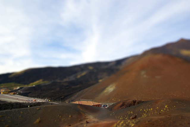 Etna - Fake Tilt Shift