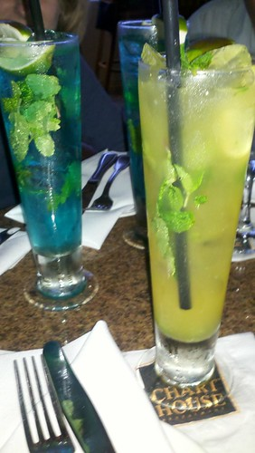 Mojitos with friends