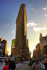 New York City USA -  Flatiron Building 01