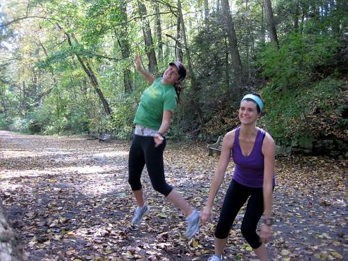 Running at Wissahickon