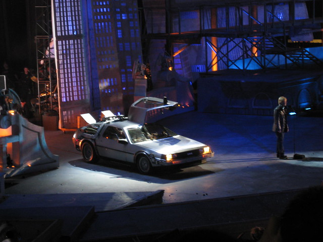 Scream Awards 2010 David Spade DeLorean