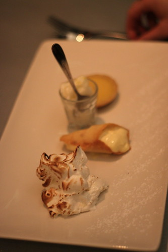 Lemon Dessert at Cafe Paradiso, Cork
