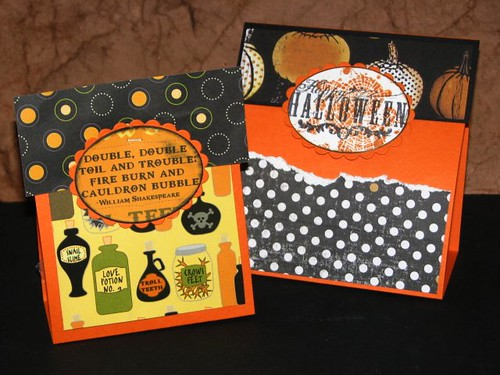Quick Halloween Treat Bags 006