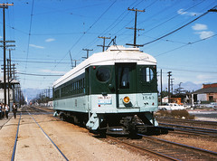 021 - PERy Car 1543 Long Beach Southbound At Slauson Jct. (Metro Transportation Library and Archive) Tags: history historic signage mta pe redcars lamta pacificelectricrailwaycompany losangelesmetropolitantransitauthority railexterior
