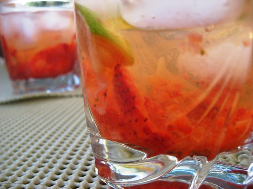 Le Caïmorango (Strawberry Cocktail)