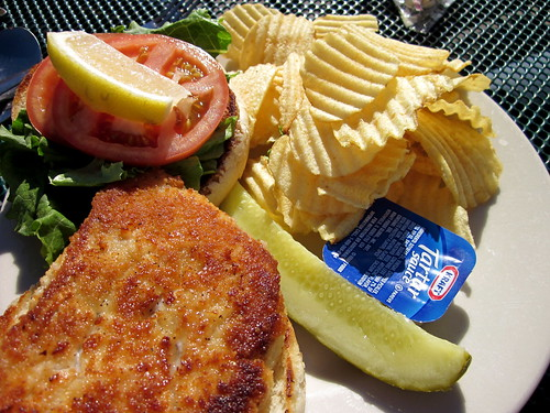 I love a fish sandwich.