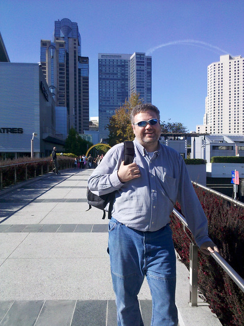 Day One Me on the Yerba Buena Bridge