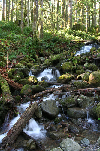 Wallace Falls - small falls